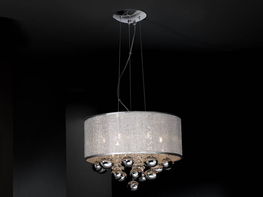 Schuller Andromeda 6l Pendant Lighting Brooklyn, New York - Accentuations Brand