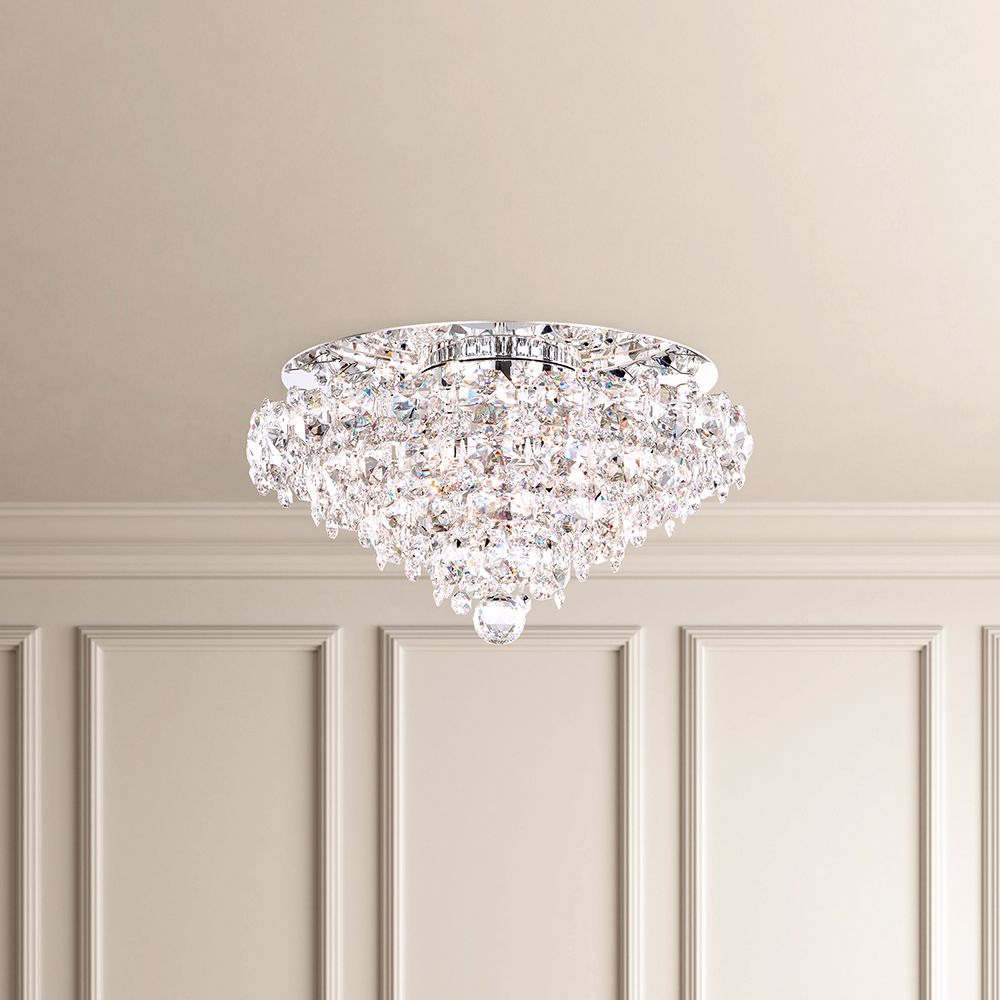 Schonbek Contemporary Crystal Ceiling Lamp Brooklyn, New York, Furniture by ABD
