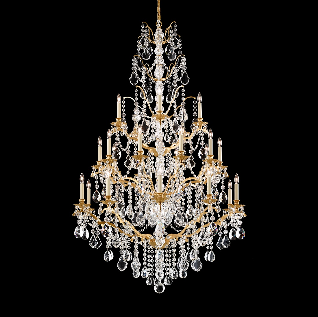 Schonbek Modern Crystal Chandelier for Dining Room Brooklyn,New York