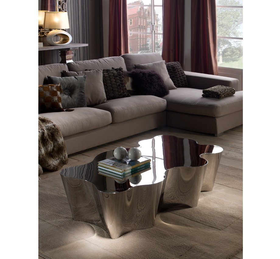 Schuller Arcadia Coffee Table Modern Glass Coffee Table for Sale Brooklyn - Furniture by ABD