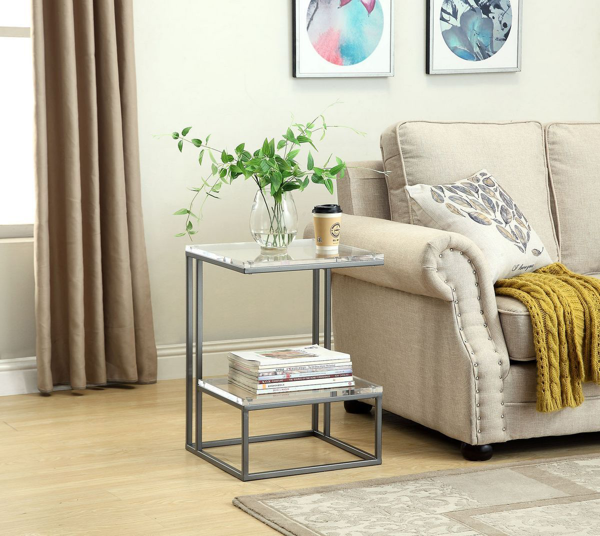 Lexi Clear finish will add a clean and modern look to any room