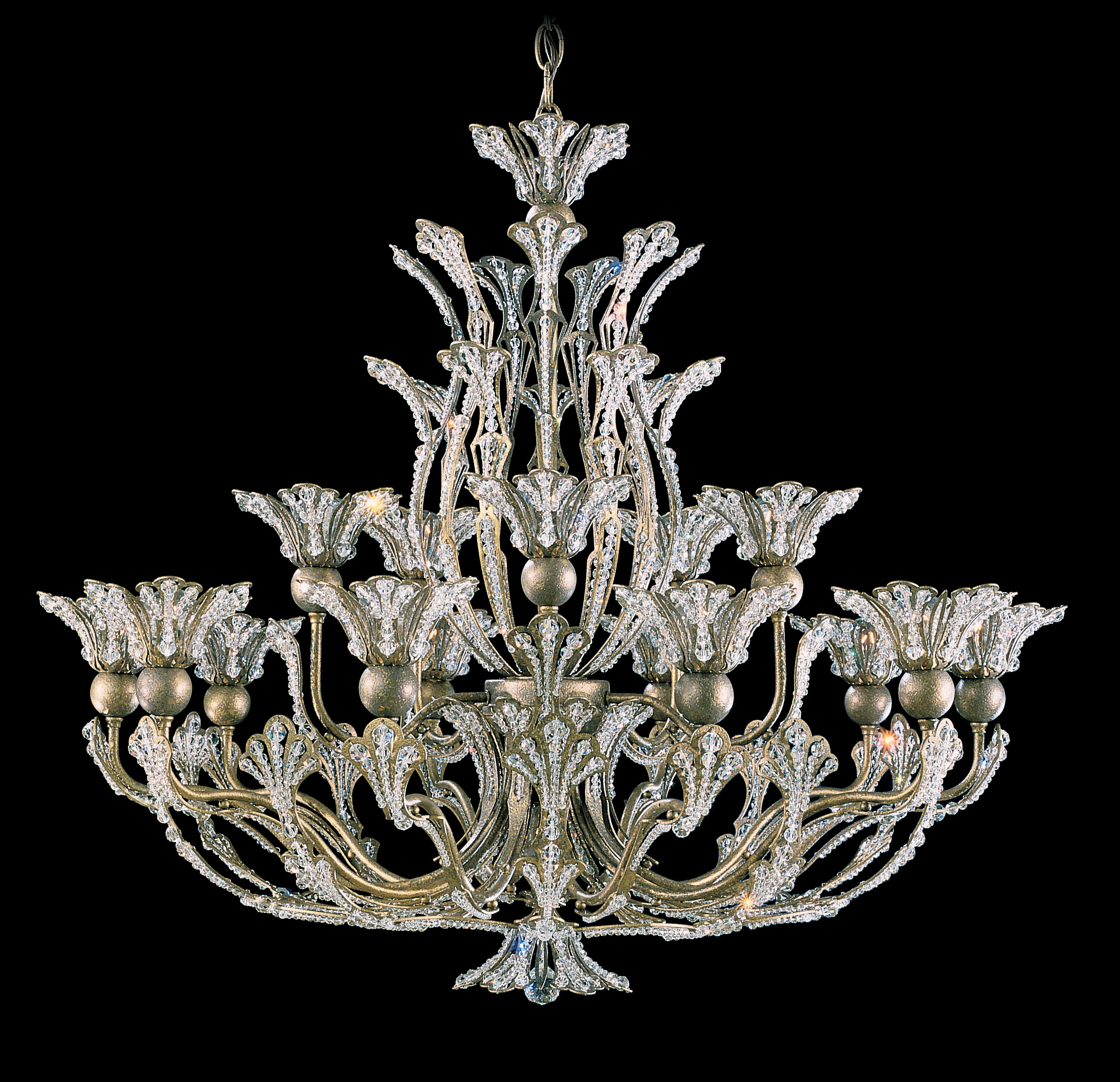 Crystal Chandelier Schonbek, Furniture by ABD