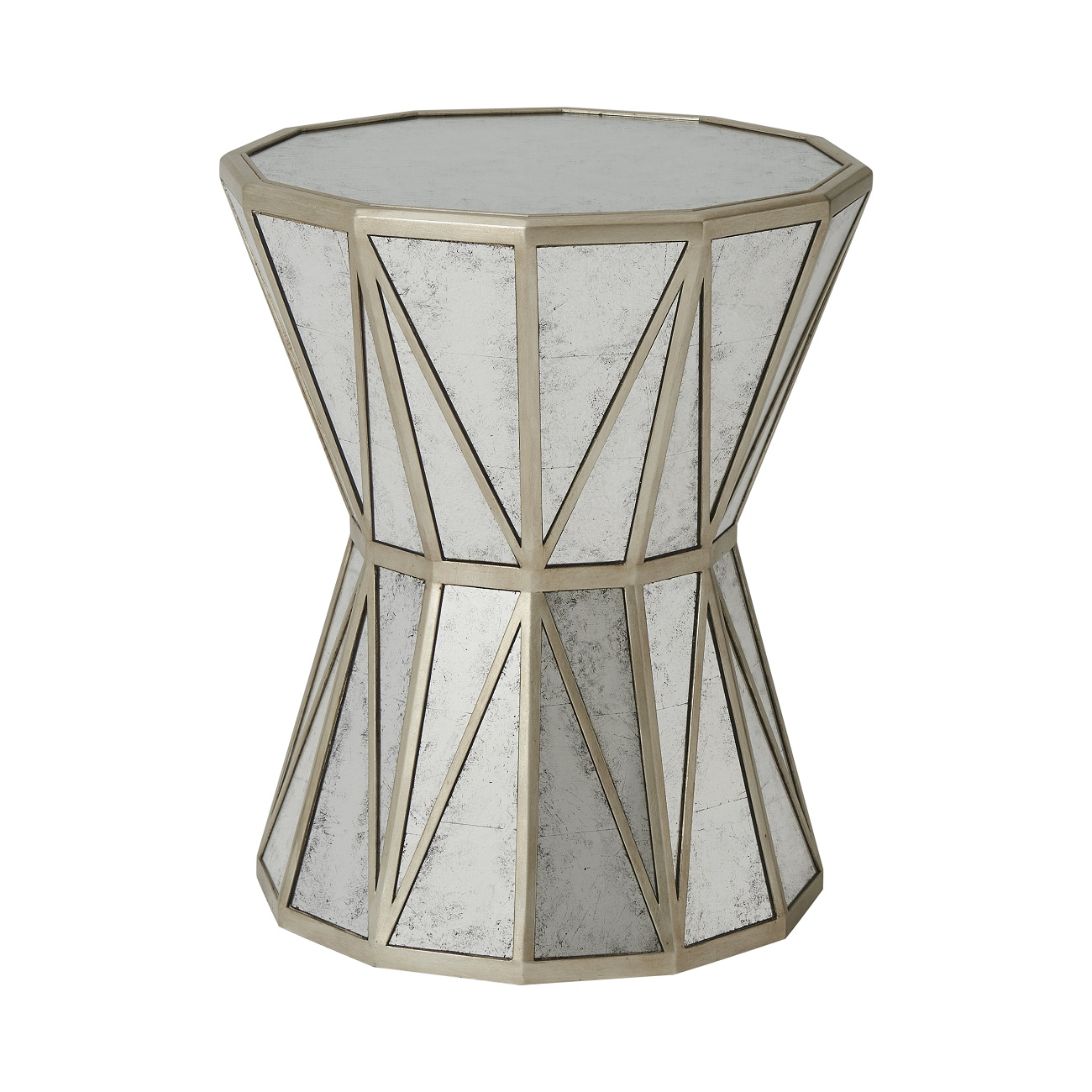 Theodore Alexander A Dozen Leaves Accent Lamp Table Brooklyn, New York