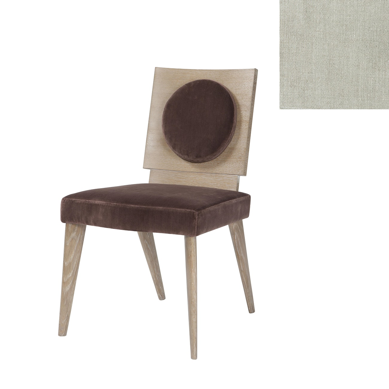 MB1005 1AQG Lucille Chair Theodore Alexander