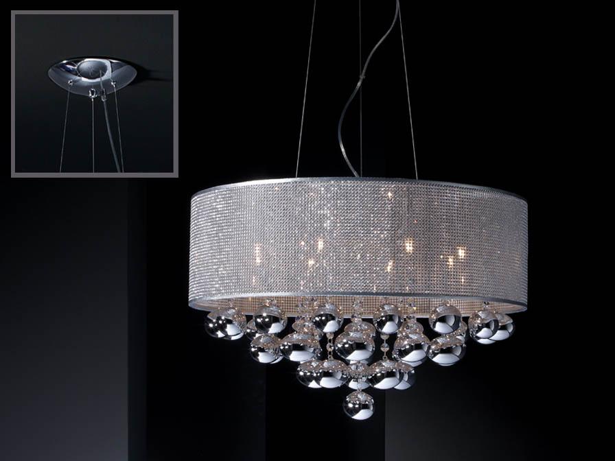 Schuller Andromeda 8l Pendant Lighting Brooklyn, New York - Accentuations Brand