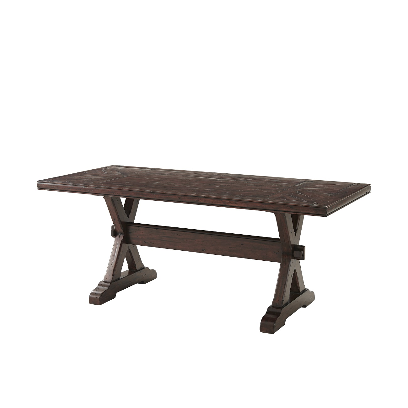 Country Accompaniment Bistro Table, Theodore Alexander Bistro Table