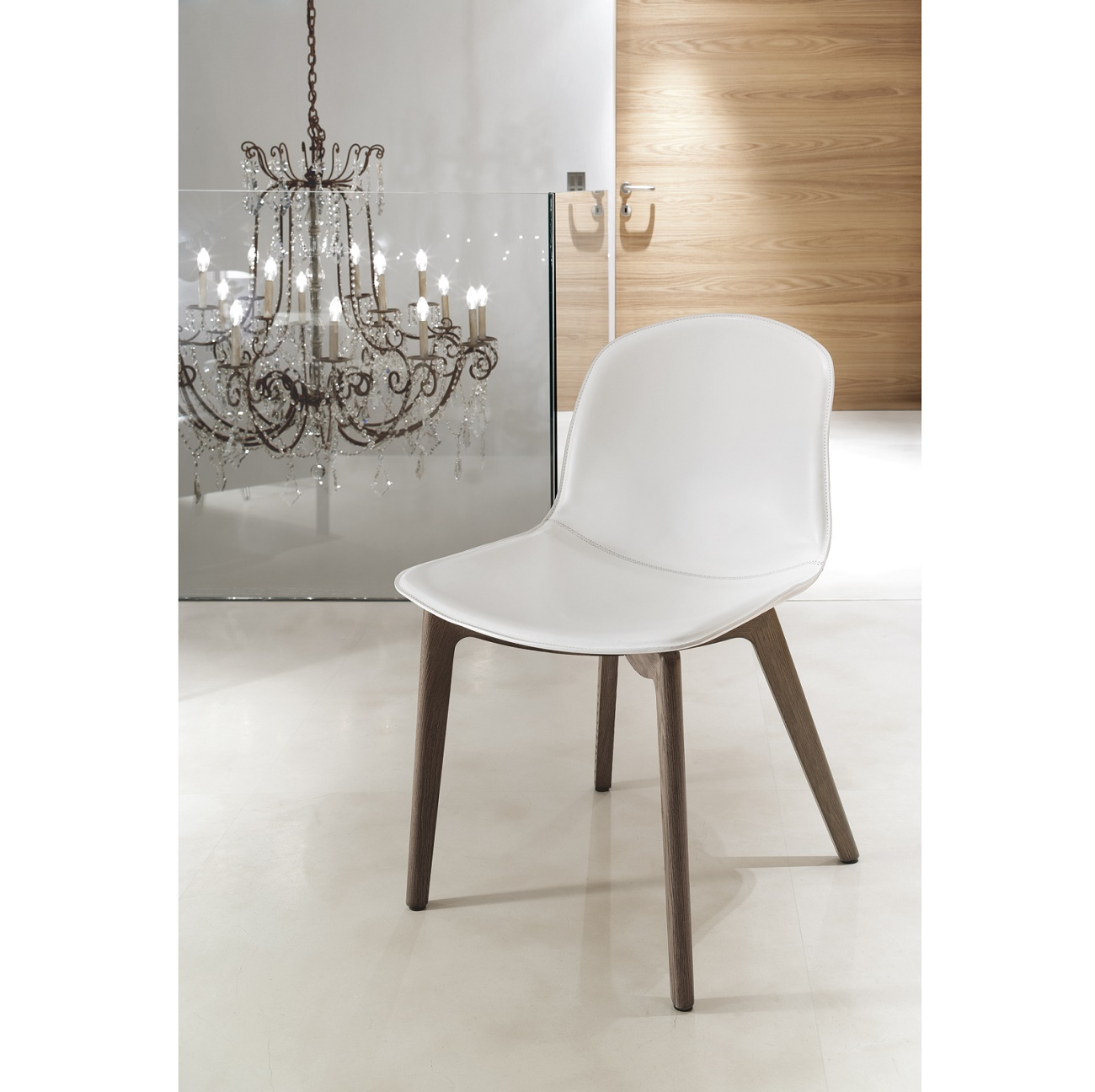 Seventy chair / Wood Legs, Bontempi CASA Dining Chairs, Brooklyn, New York, Furniture by ABD