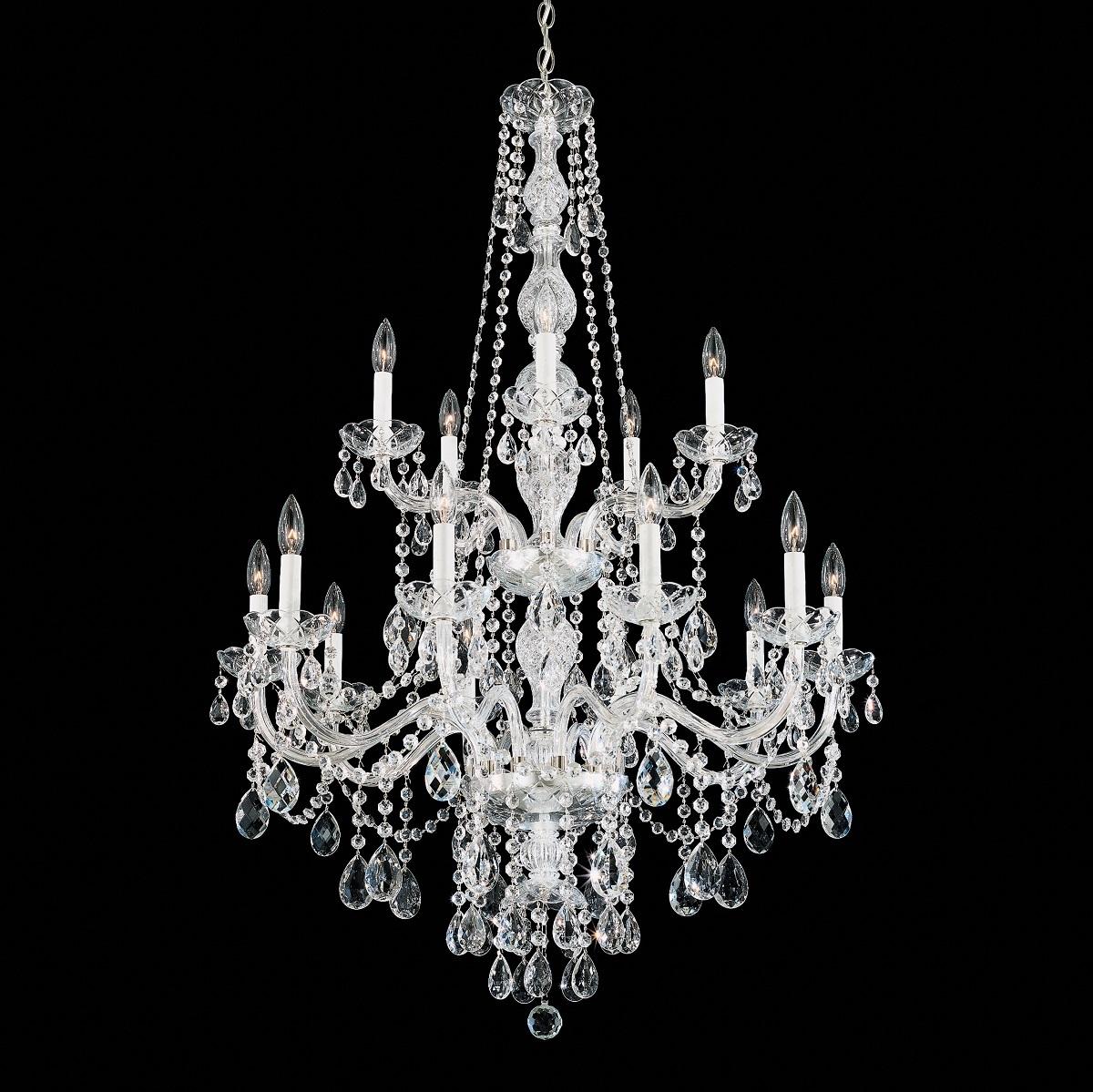 Schonbek Modern Crystal Chandelier Brooklyn,New York - Accentuations Brand