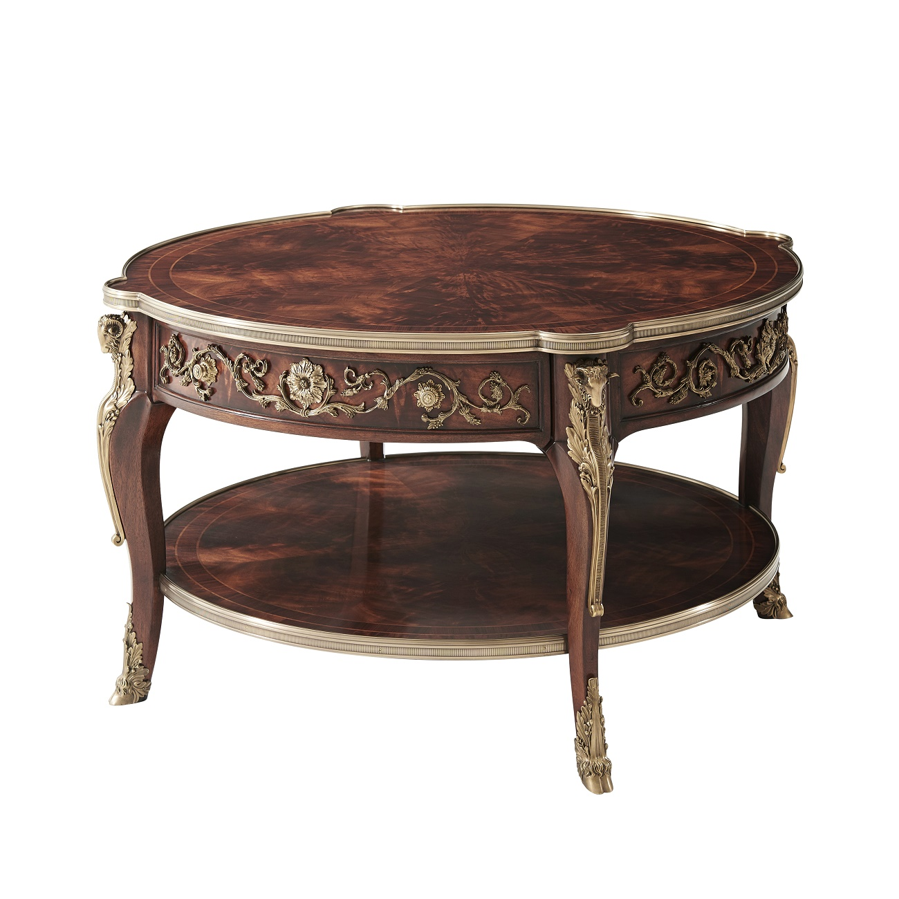 5105 178 A Capital Cocktail Table theodore alexander