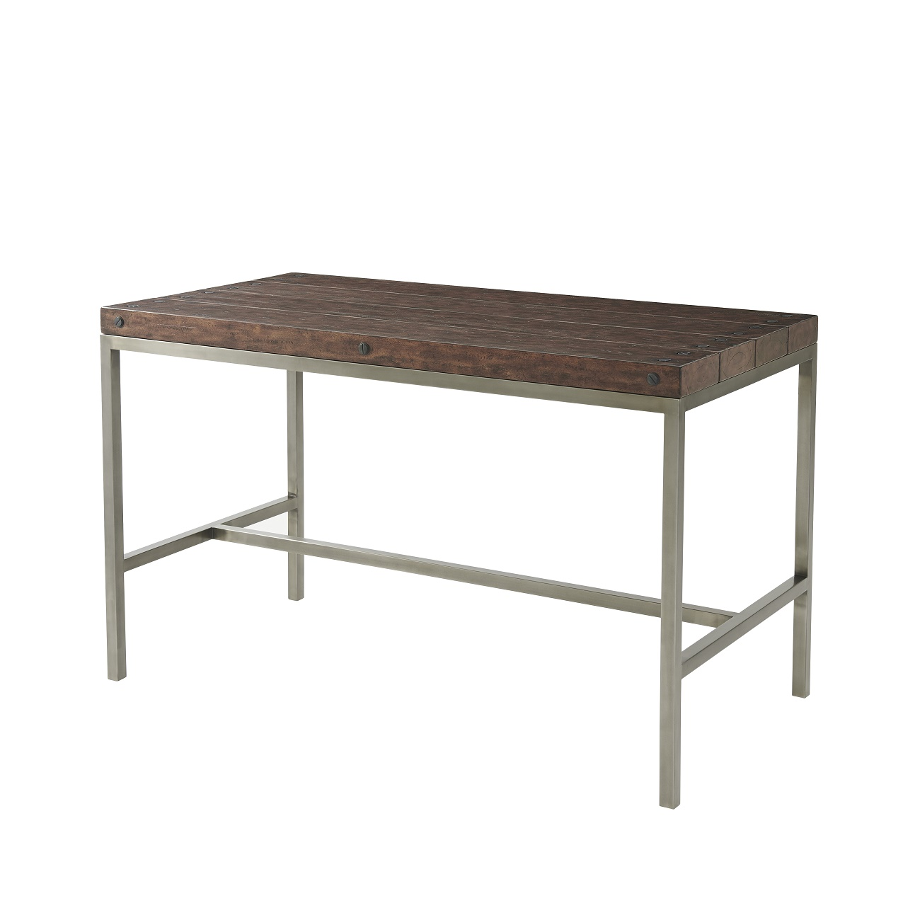 5000 584 Byronic Gunmetal Bar Table theodore alexander