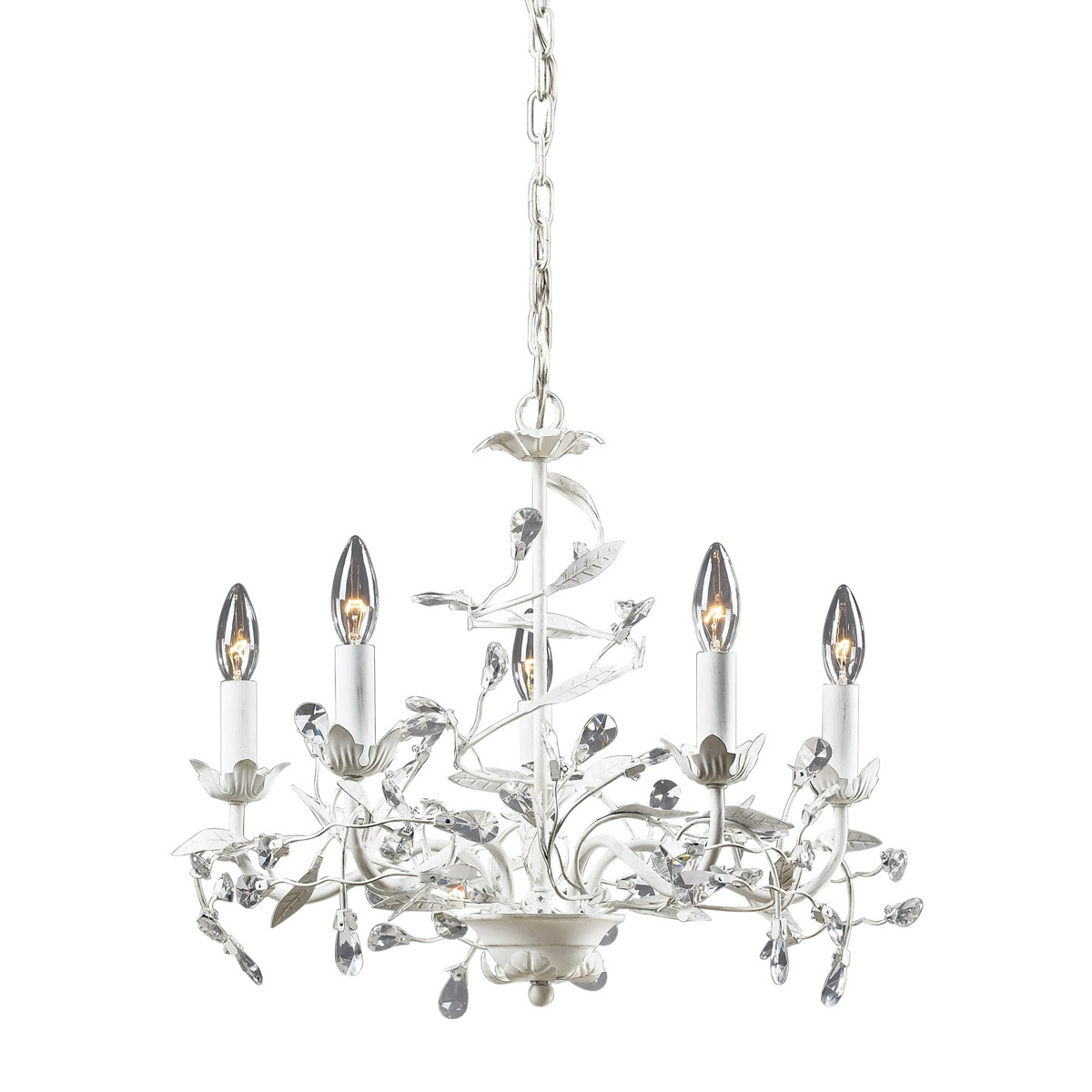 Modern Crystal Chandelier ELK Lighting, Accentuations Brand, Furniture by ABD