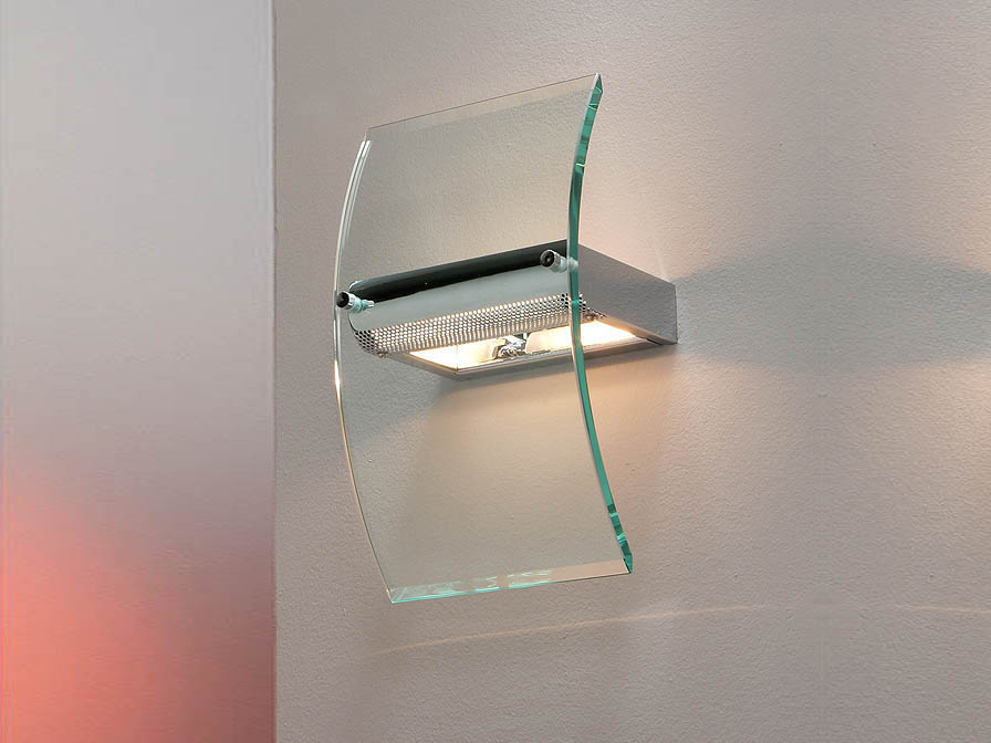 Schuller Glass Wall Lamp Wall Sconces for Sale, Brooklyn, New York - Accentuations Brand
