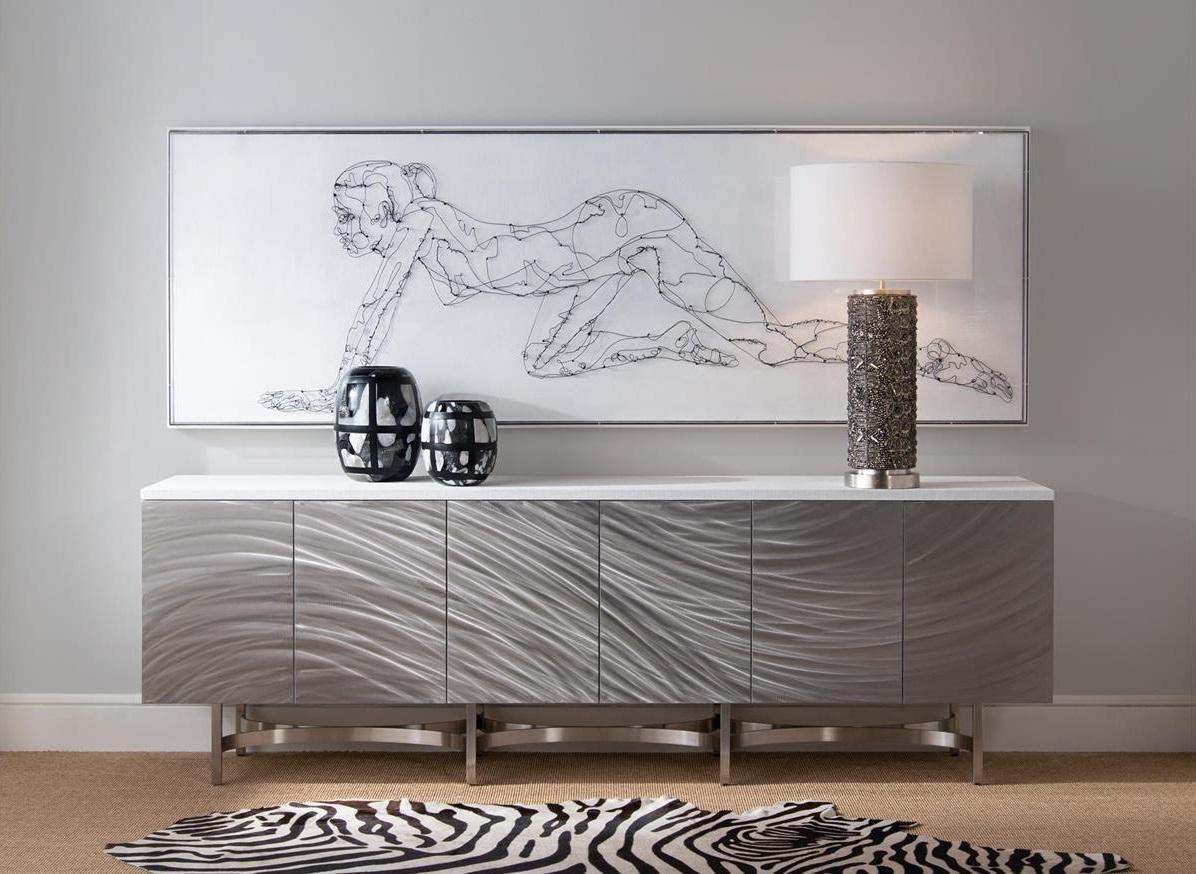 Azure Sideboard, John Richard Sideboard, Brooklyn, New York, Furniture by ABD