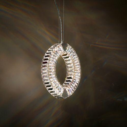 Schonbek  Modern Crystal Pendant Chandelier Brooklyn, New York– Furniture by ABD