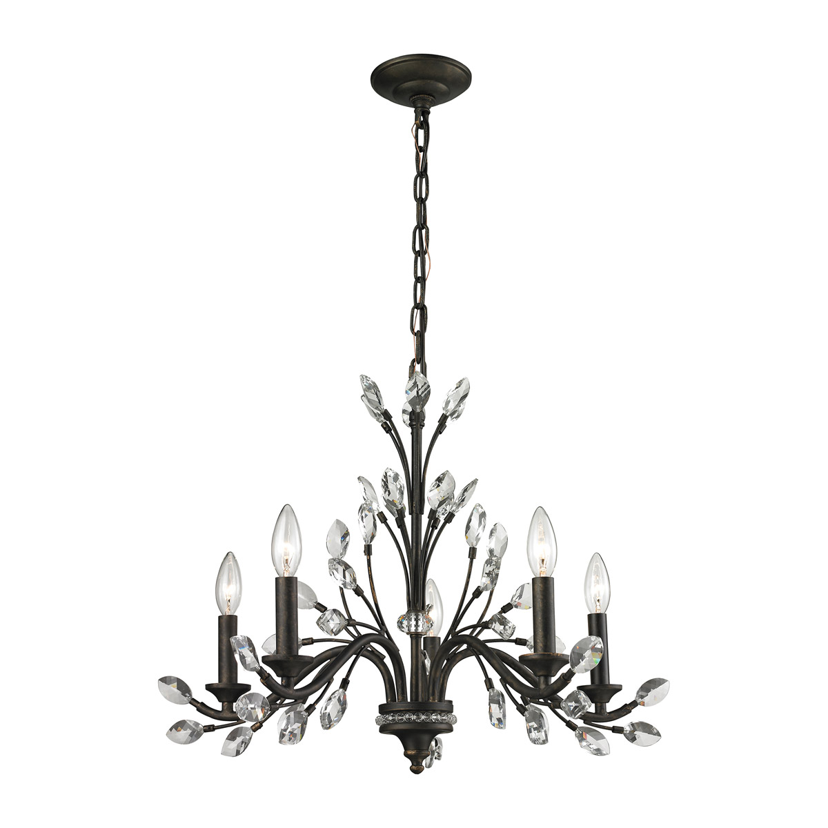 Crystal Chandelier ELK Lighting,Brooklyn,New York Furniture by ABD, Accentuations Brand