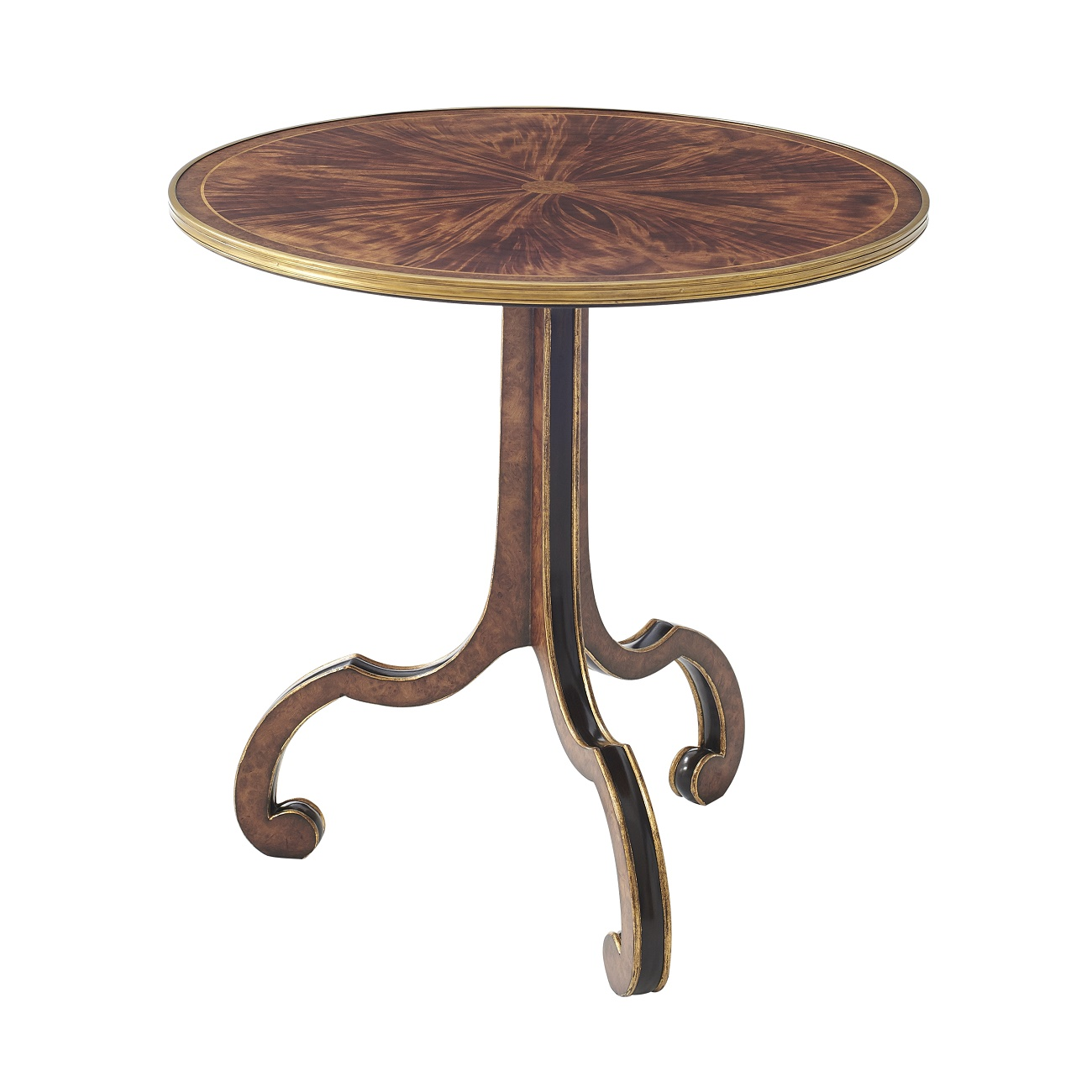 5005 552 Inward Looking Accent Table theodore alexander