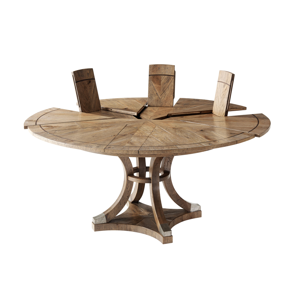 Devereaux Dining Table, Theodore Alexander Dining Table, Brooklyn, New York