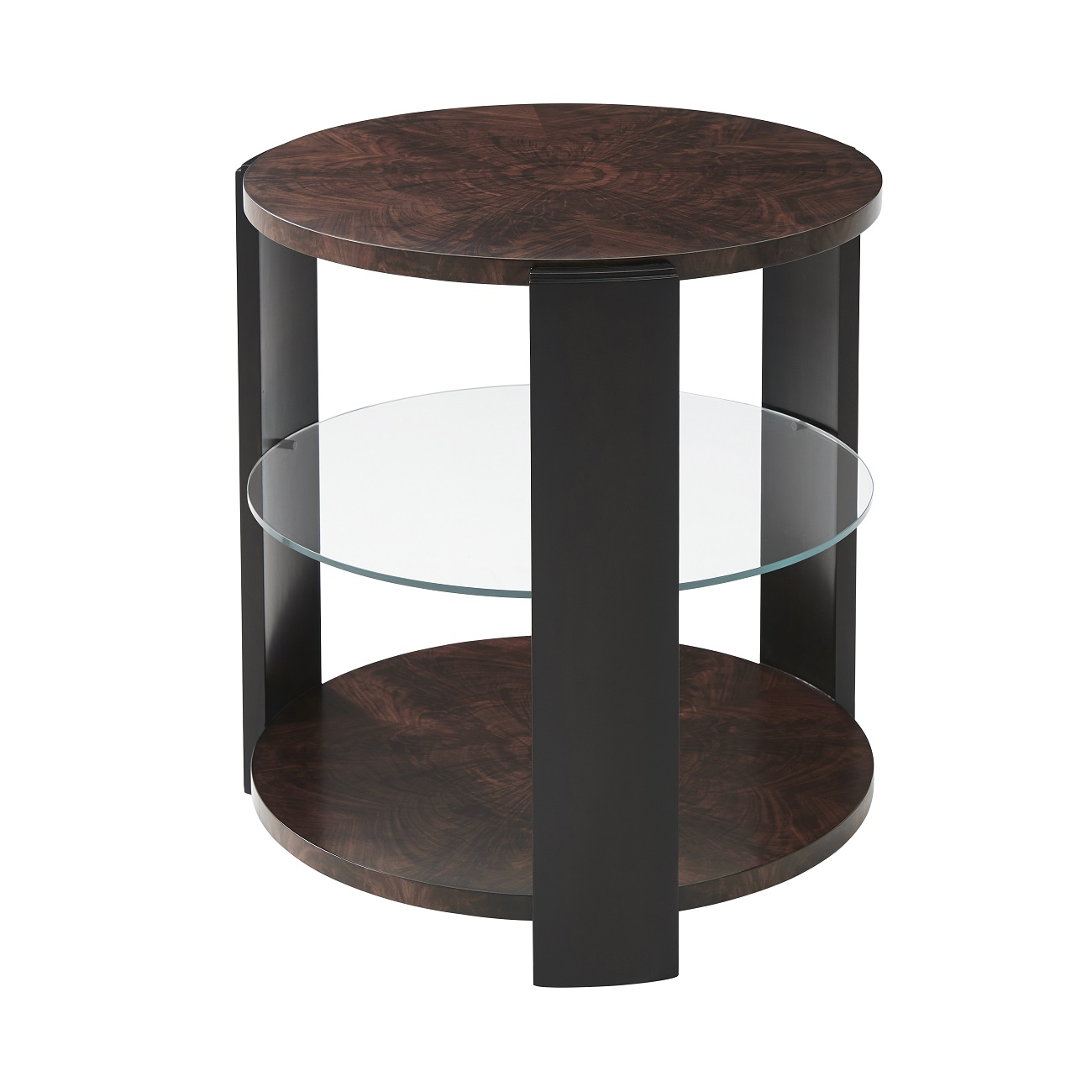 Eclectics Walnut Reflection Accent Table 5005 640 theodore alexander