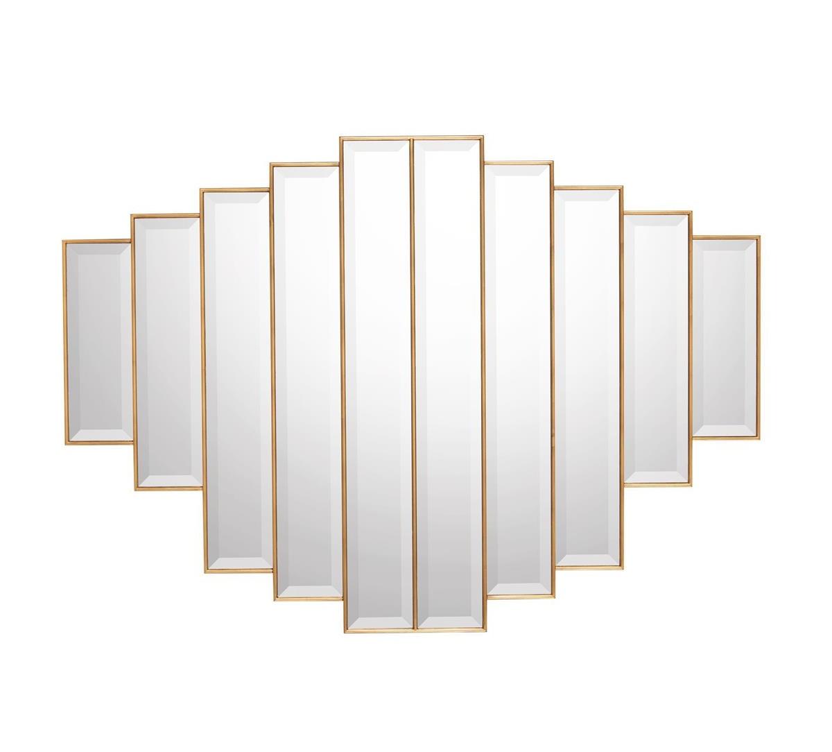Benelli Mirror, John Richard Mirror, Brooklyn, New York, Furniture by ABD