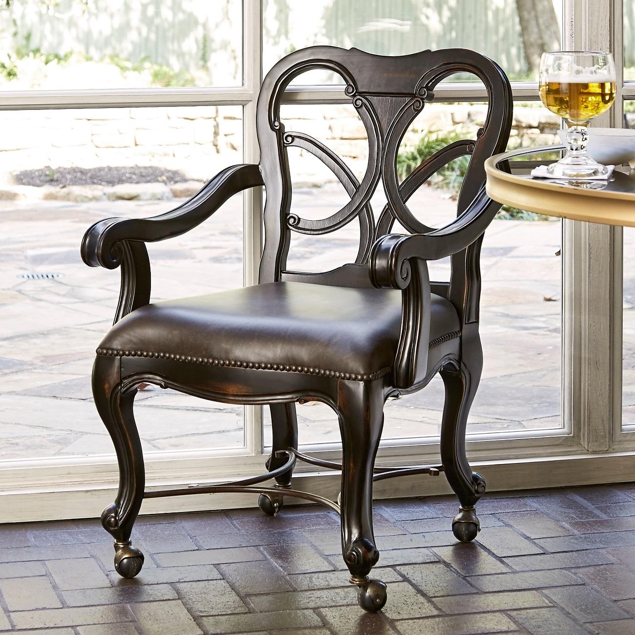 Celeste Chair on Casters