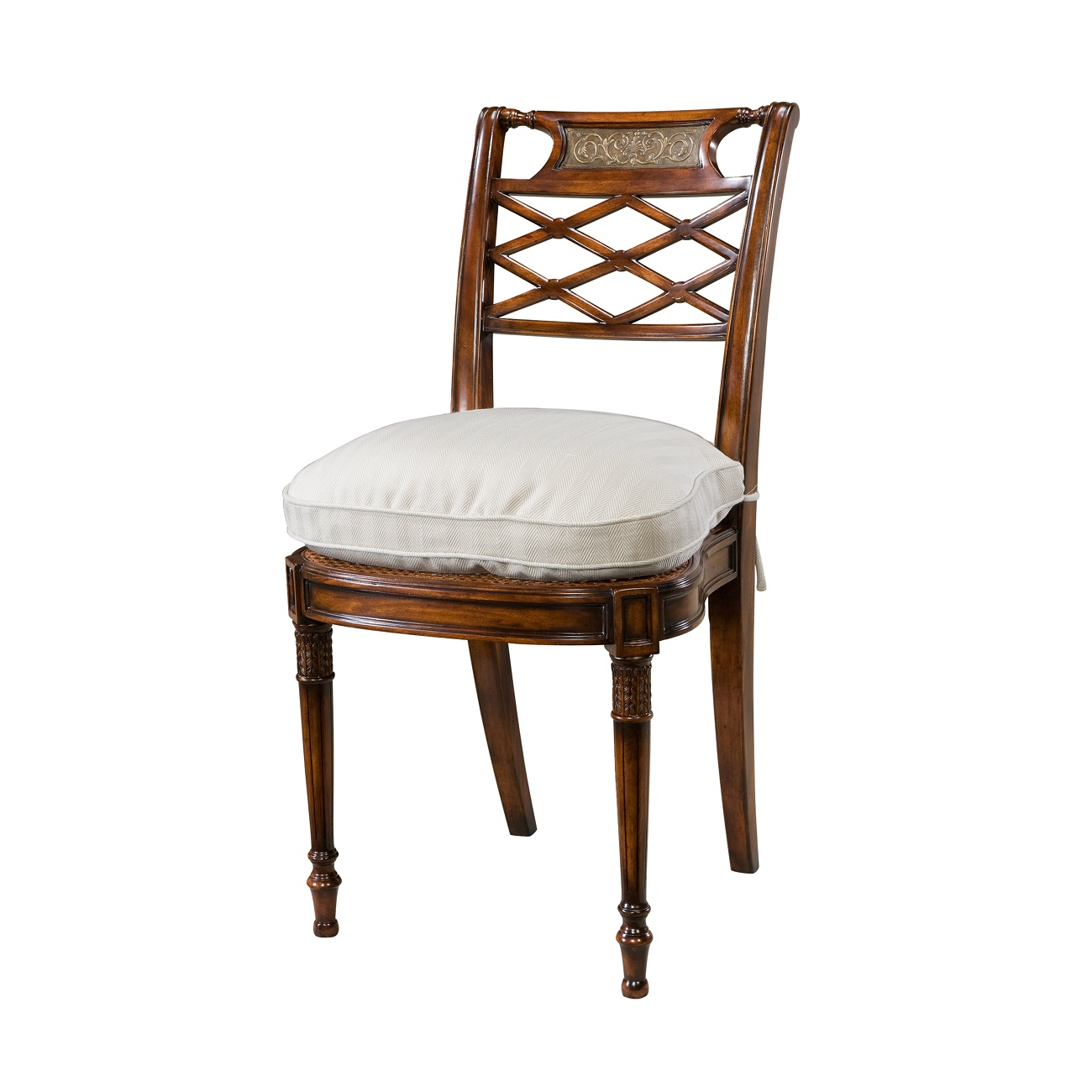 Theodore Alexander Adorned With Silk Bows Side Chairs on Sale Brooklyn - Accentuations Brand