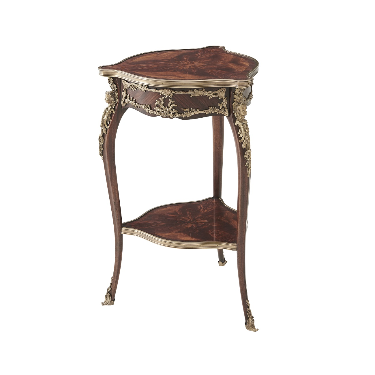 AL50065 Caryatids Accent Table Theodore Alexander