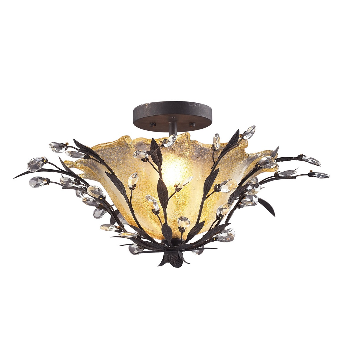 Circeo 8059 ELK lighting stylish flush mount lights Brooklyn,New York  by Accentuations