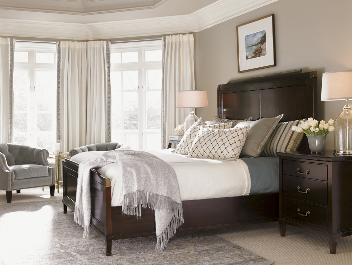 Kensington Place Bennington Bed, Lexington Modern Design Bedroom Furniture