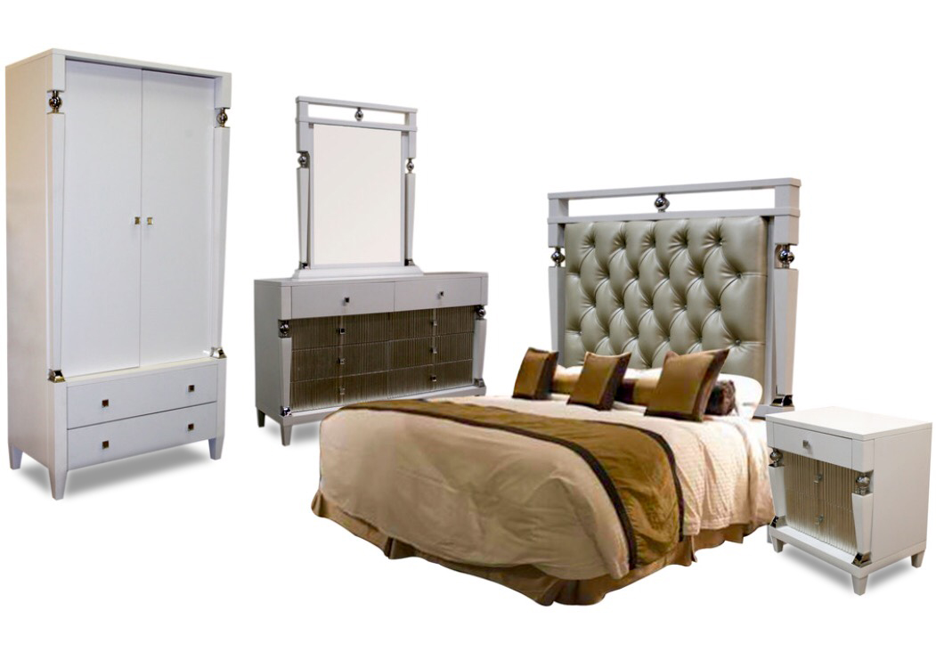 Galina Bedroom Set, Complete Bedroom Sets For Sale, Accentuations Brand