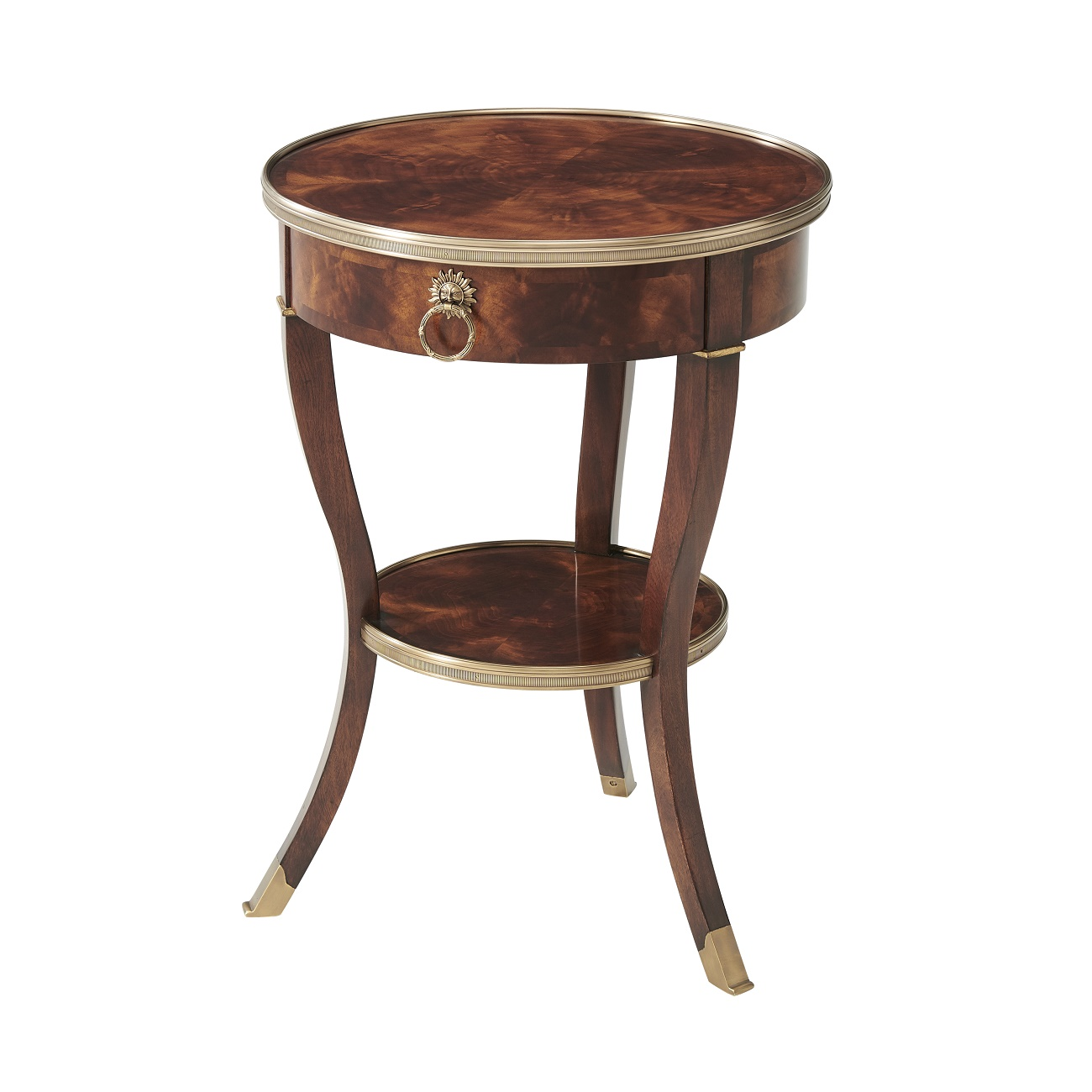 Theodore Alexander Around In Circles Accent Lamp Table Brooklyn, New York