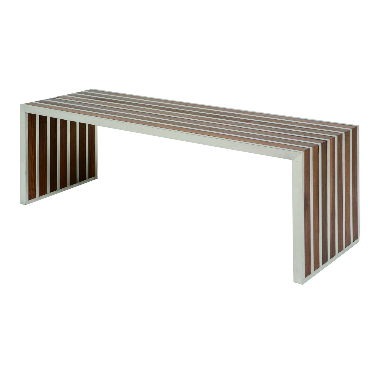 Nuevo American Amici Occasional Steel Bench for Sale Brooklyn, New York– Furniture by ABD