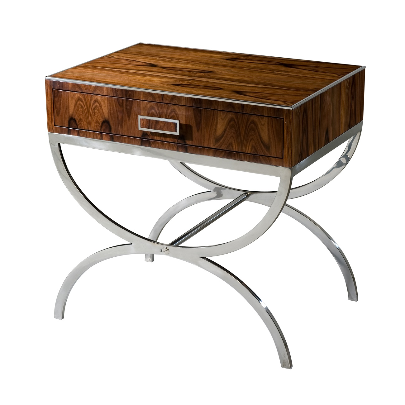 KENO5044 Dual Curves II Accent Table Theodore Alexander