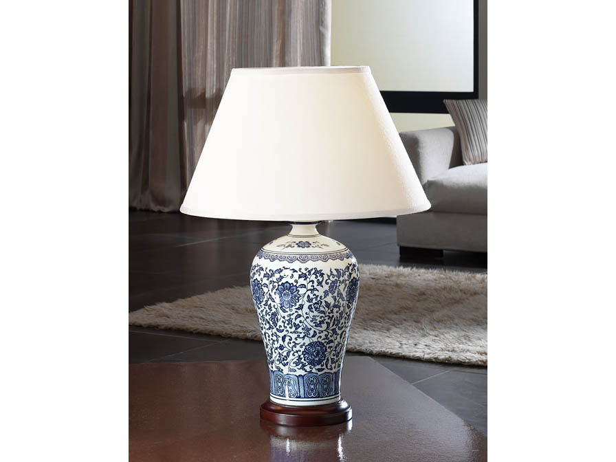Schuller Alcora1 Contemporary Table Lamps for Living Room Brooklyn, New York - Accentuations Brand
