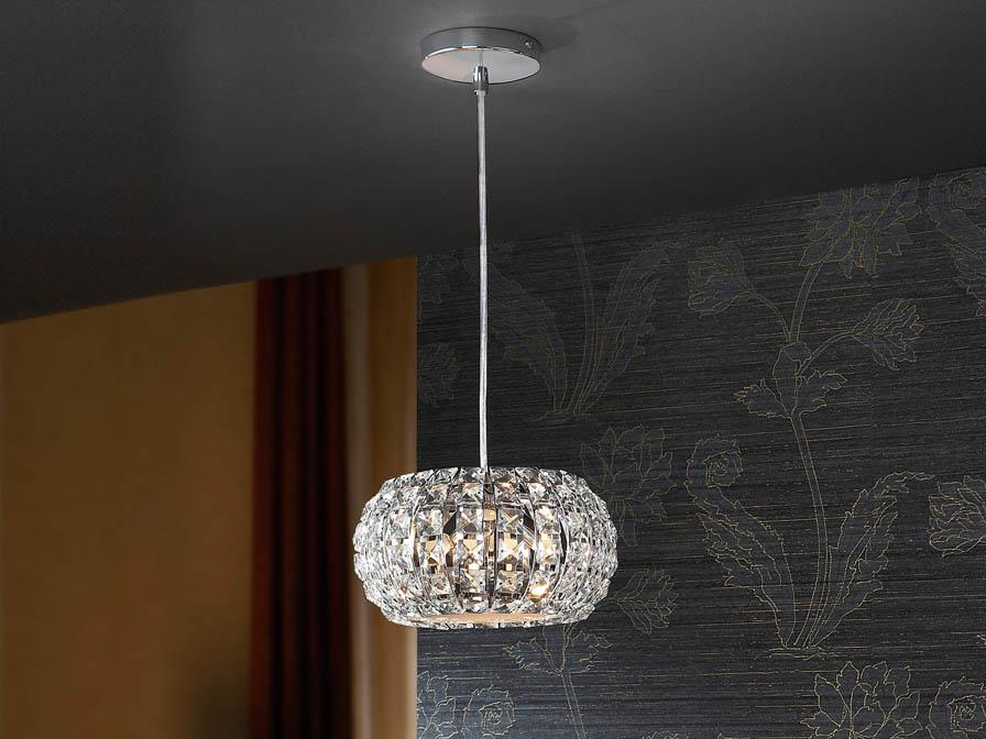 Schuller Diamond Small Pendant Lighting Brooklyn,New York- Accentuations Brand