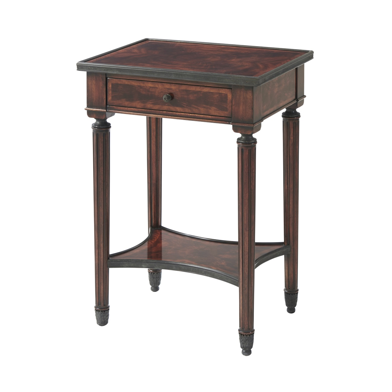 5005 280 A Rural Rectory Accent Table theodore alexander