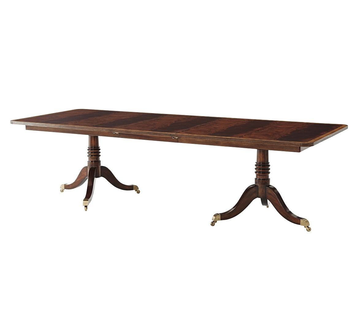 Penreath Dining Table, Theodore Alexander Dining Table, Brooklyn, New York, Furniture by ABD