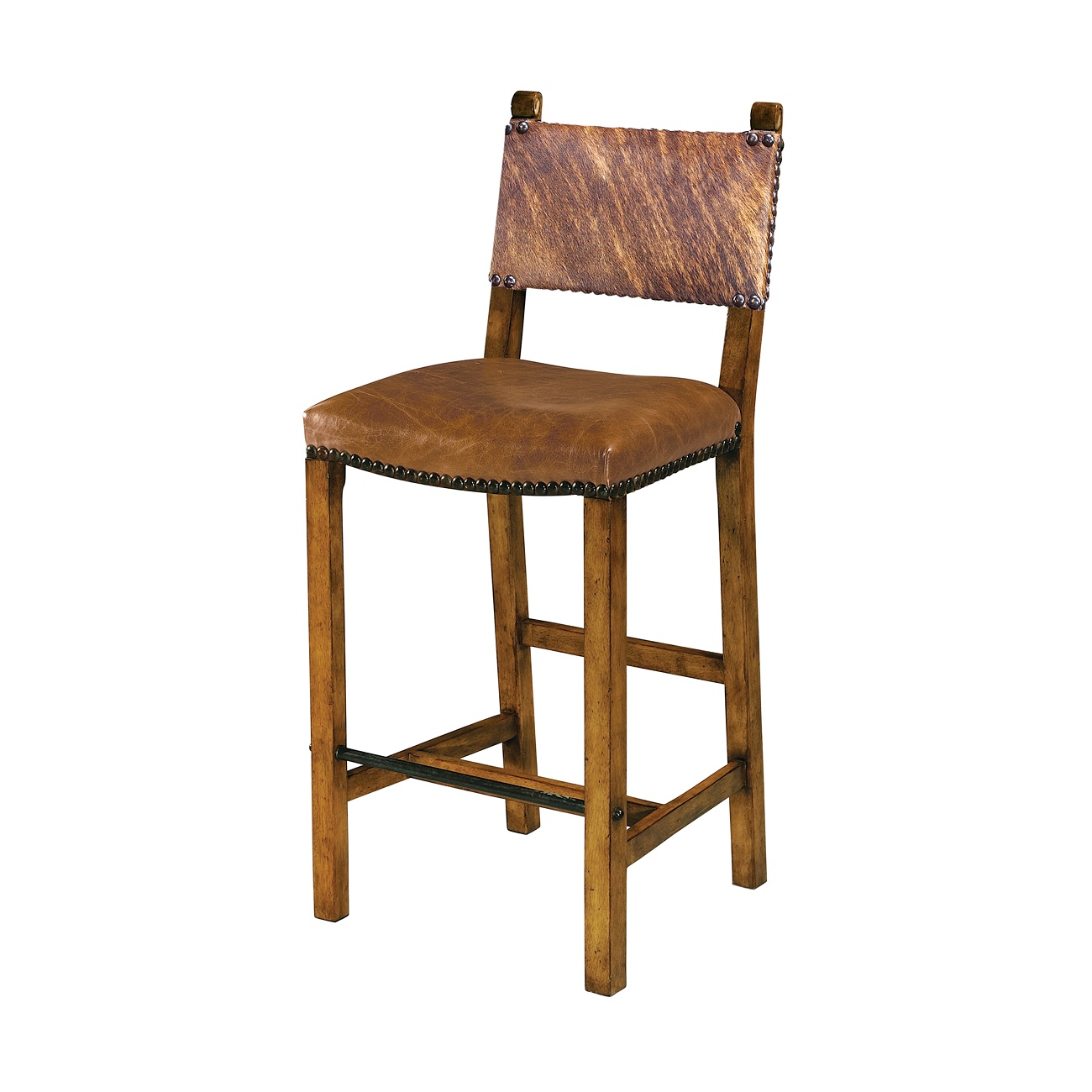 A Director Bar Chair Bar Stool, Theodore Alexander Bar Stool, Brooklyn, New York