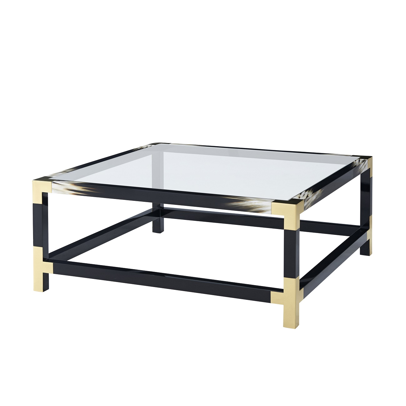5102 065 Cutting Edge Squared Cocktail Table theodore alexander
