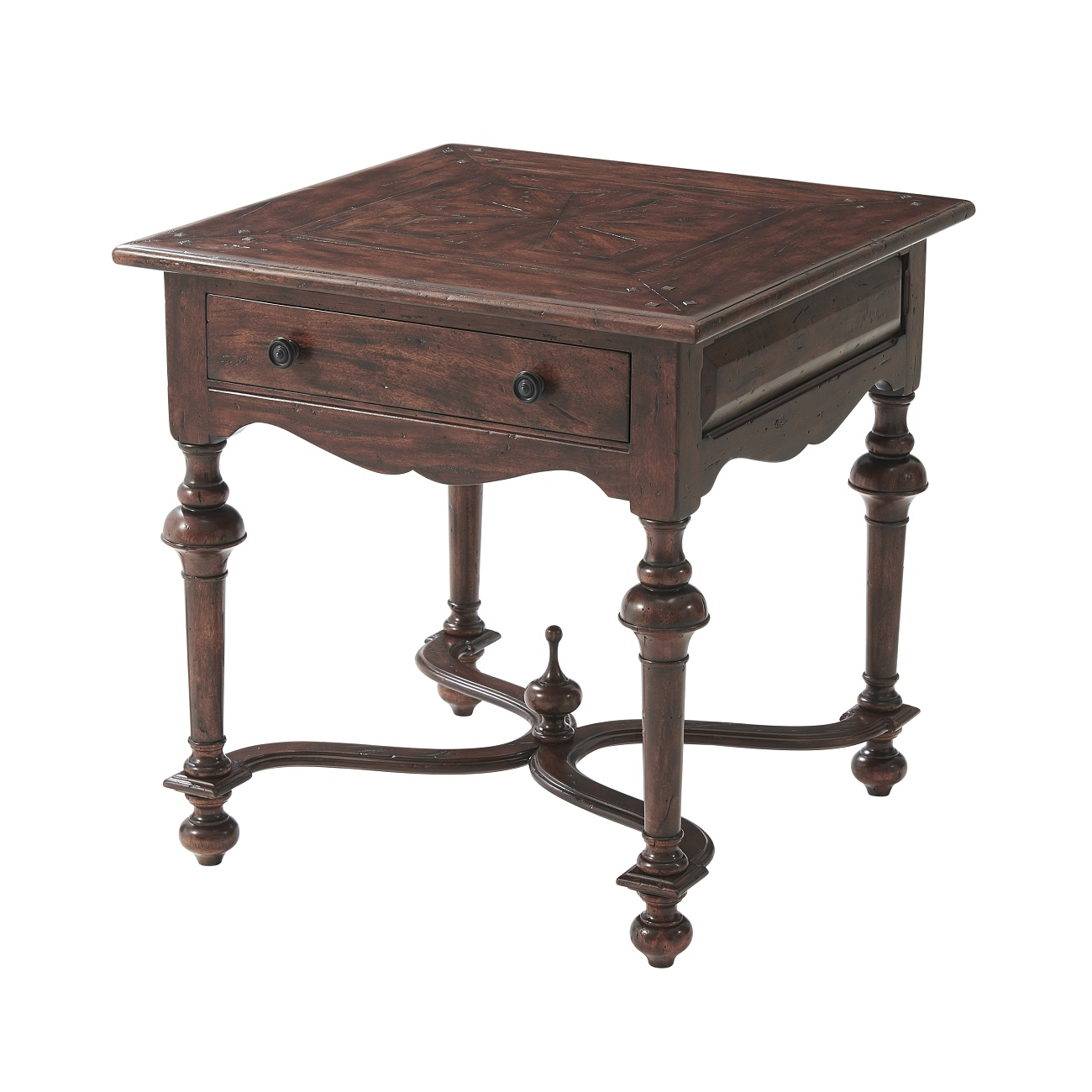 CB50013 Heirloom From The Hall Accent Table Theodore Alexander
