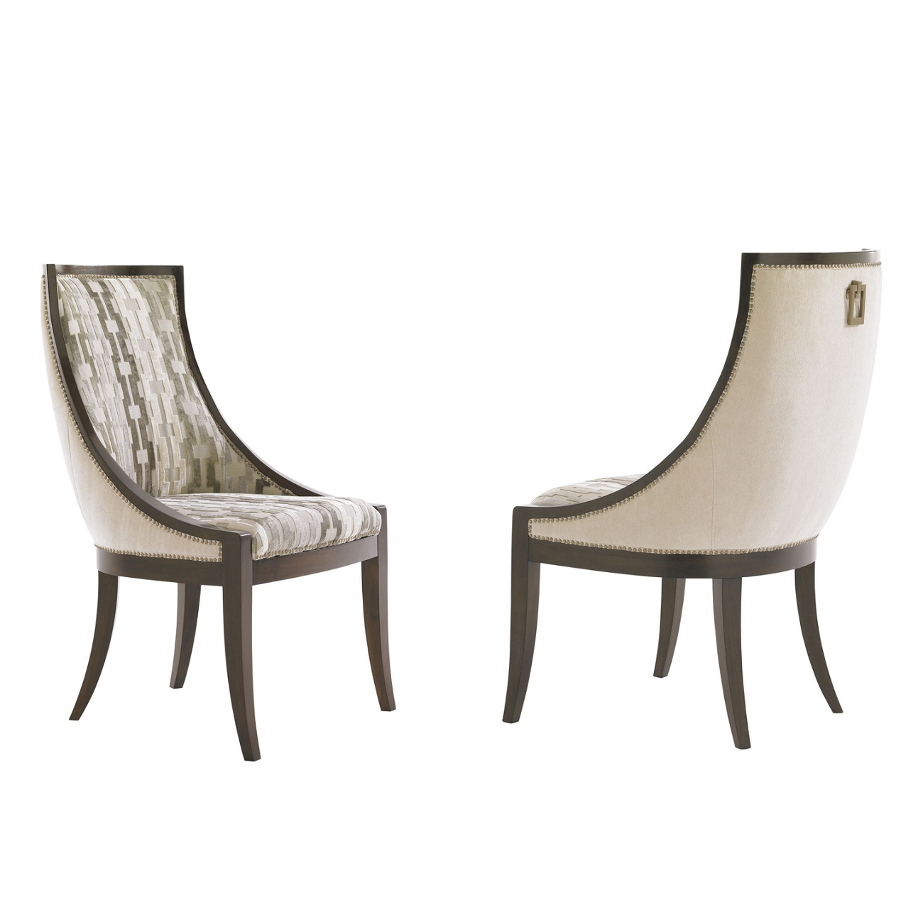 Tower Place Talbott Host Dining Chair, Lexington Tufted Dining Chairs For Sale
