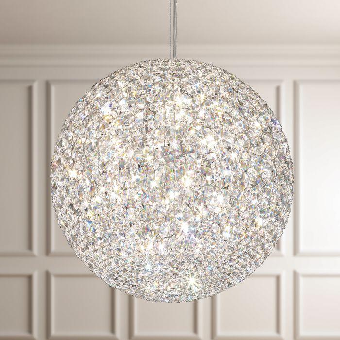 Schonbek  Modern Crystal Pendant Chandelier Brooklyn,New York by Accentuations Brand