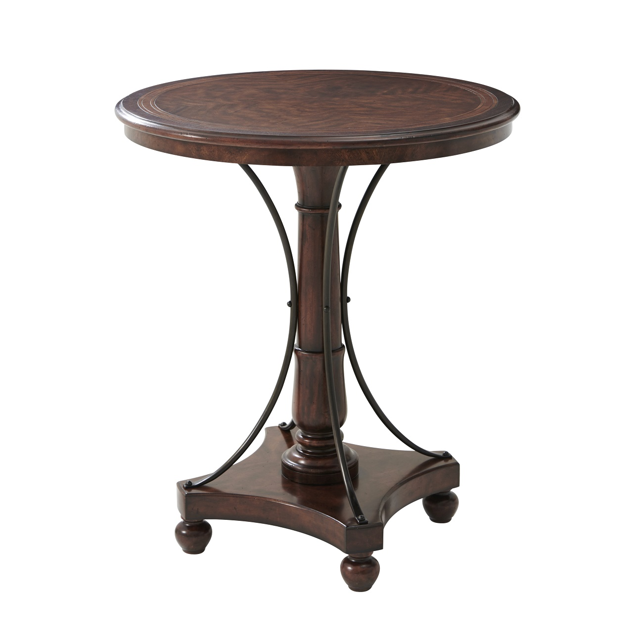Theodore Alexander, Mahogany Lamp Tables for Sale, Brooklyn, New York