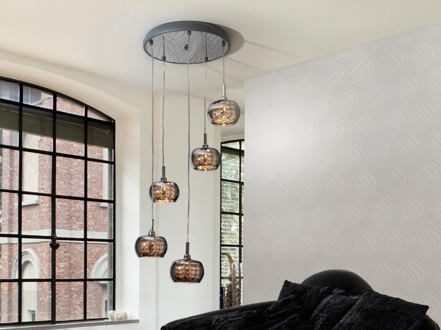 Arian 5L Schuller Pendant Lights Brooklyn,New York - Accentuations Brand
