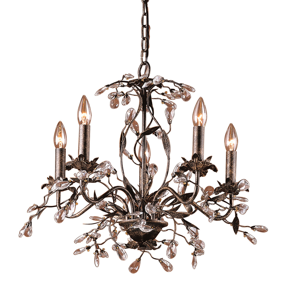 Contemporary Crystal Chandeliers ELK Lighting, Accentuations Brand, Furniture by ABD
