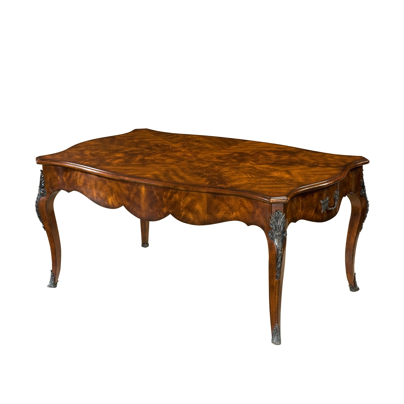 Theodore Alexander an Outstanding Flame cocktail table for Sale Brooklyn, New York