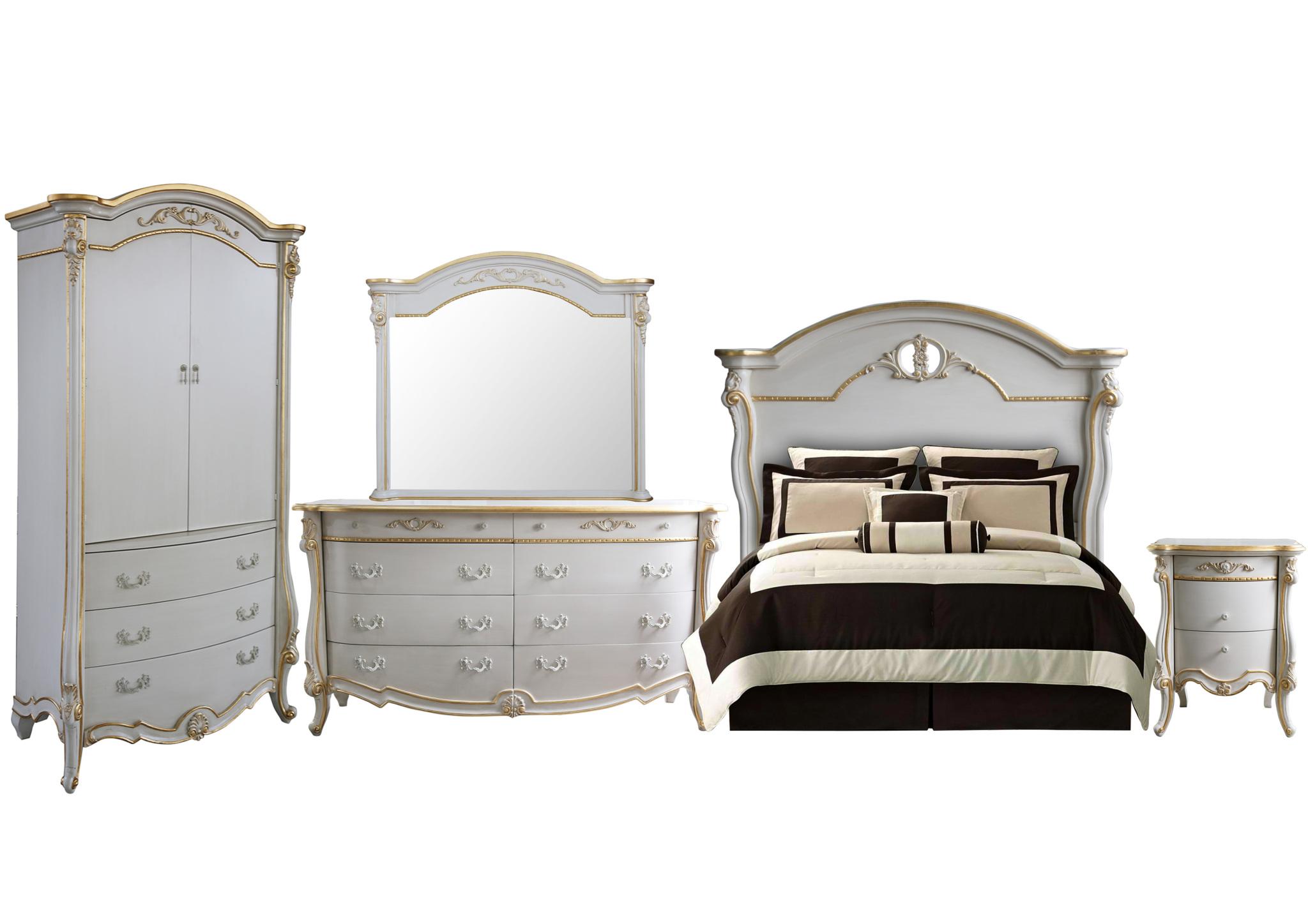 Rachel bedroom set complete bedroom sets for sale for Complete bedroom sets for sale