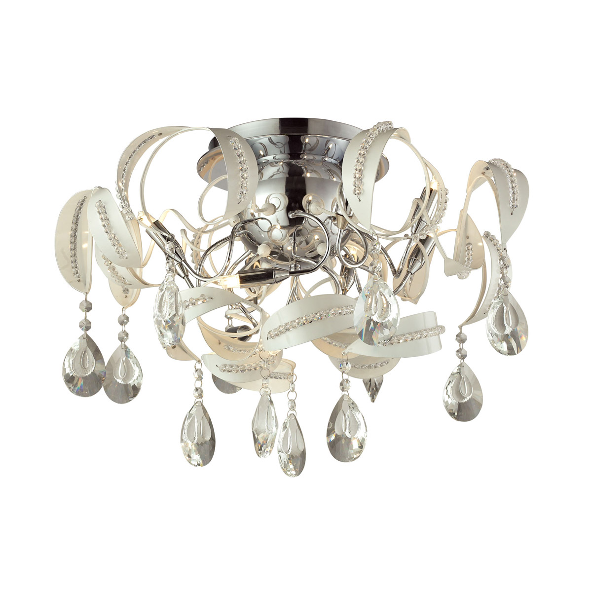 Zebula 31545 ELK lighting flush mount led ceiling light Brooklyn,New York by Accentuations