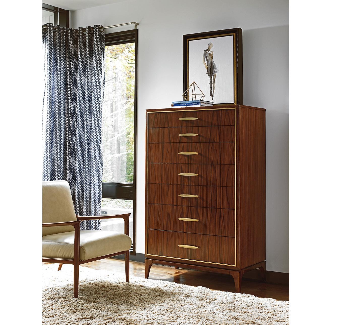 Lexington Living Room Furniture Rosewood