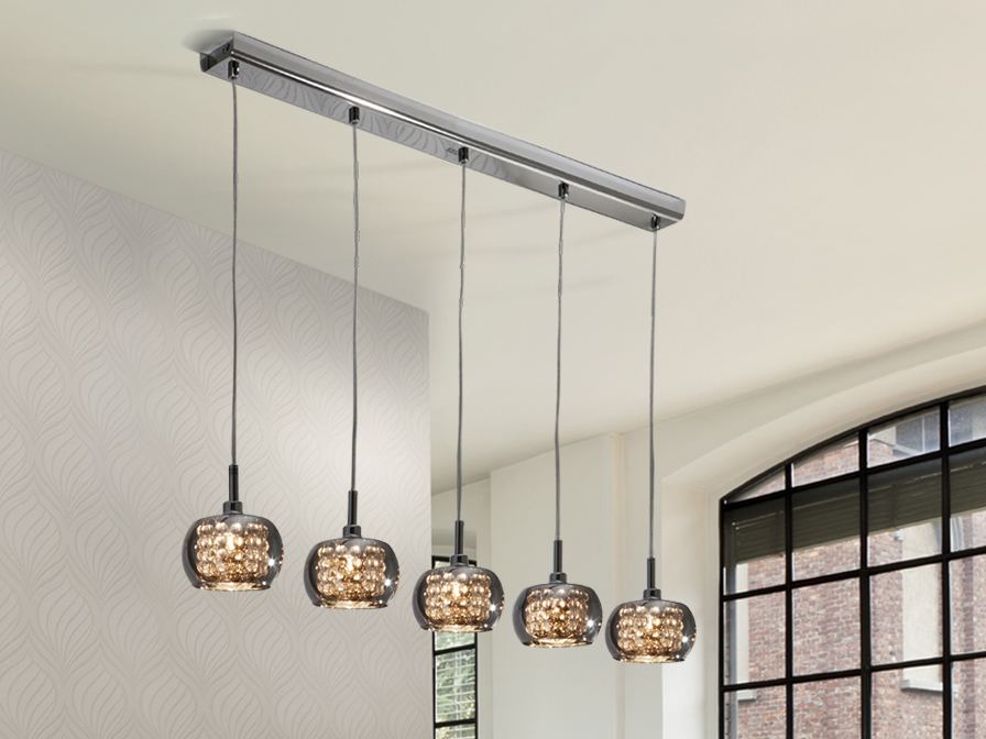 Arian Lamp 5L Pendant Lighting Brooklyn,New York - Accentuations Brand