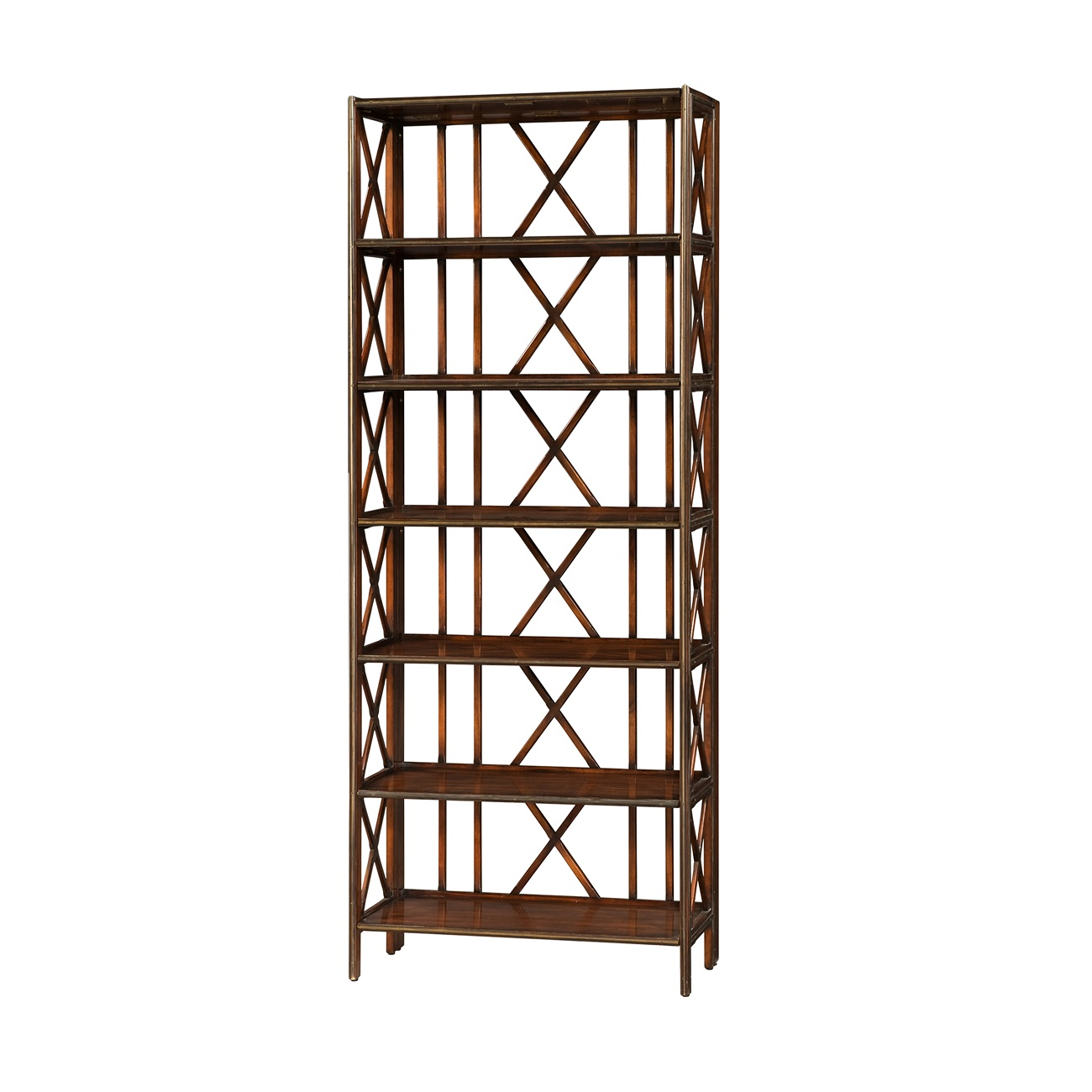 6300 059 Folding Etagere Theodore Alexander